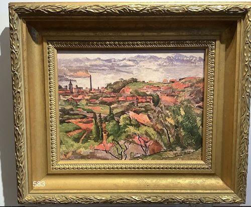 Landscape after Cezanne