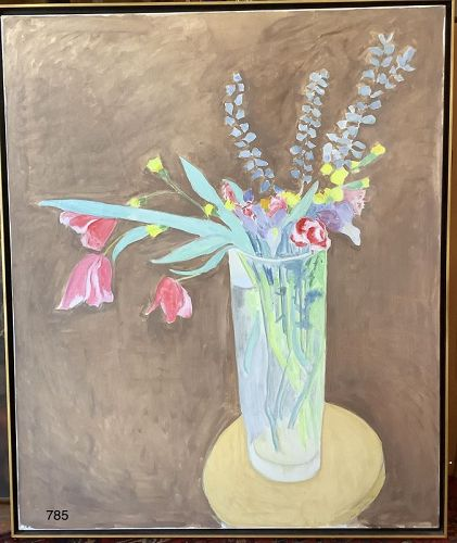 Sally Michel Avery 1902-2003 Large Floral Still Life