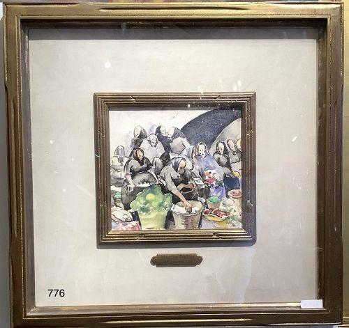 Martha Walter 1875-1976 Watercolor