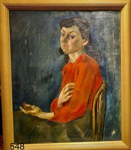 Expressionist Portrait of a Woman