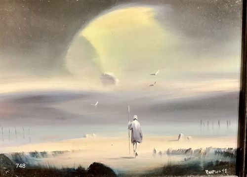 "Surrealist Robert Watson Friend of Ray Bradbury ""Searcher"" series"
