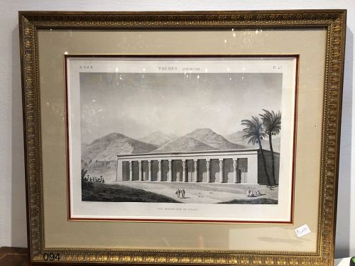 Thiebes Print Nineteen Century Lithograph