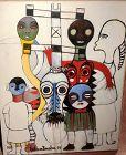 Seven Spirits by Ephrem Kouakou