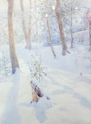 �Winter Fresh Landscape� 1920 by W.L. Palmer