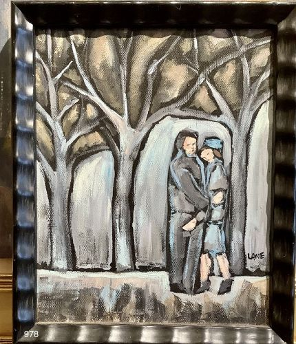 Couple in the Park by Anne Lane