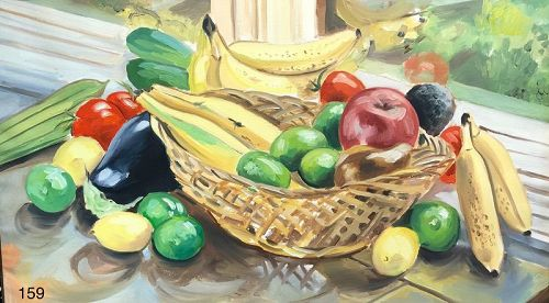 Fruit Still Life by DC Master Paco Lane
