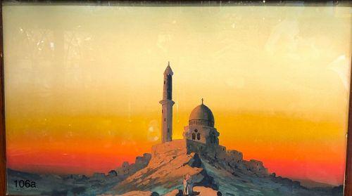 Artist Tomasso Vitrioli Original Painting  24x36 inches 1880s