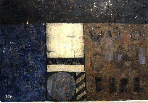"Abstract Cube Study "" TAMARA III"" C.1964 Mexican School of Modernist P"