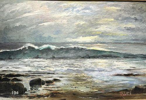 Dawn Beachscape by Edward Raletich