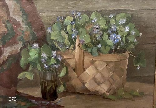 Russian Artist GORBENKO FLORAL STILL LIFE OIL ON CANVAS