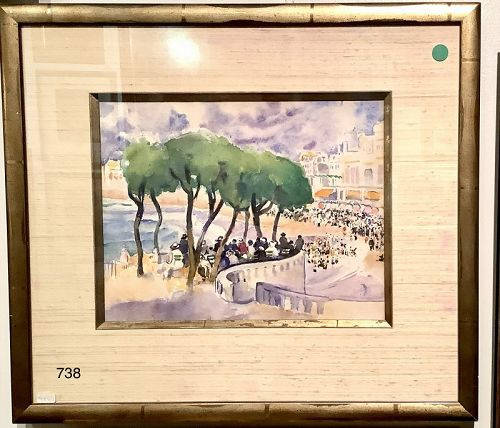 centenarian Artist MARTHA WALTER � French Riviera 1920s� Nice,France
