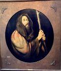Striking Portrait of �Job� by Master Artist Joseph Dawley oil painting