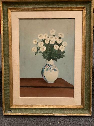 "Italian Artist Mirani ""Still Life with Flowers"" nephew of Morandi"