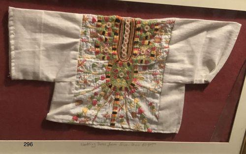 Siwa Oasis Egypt,framed Wedding Garment 20th Century
