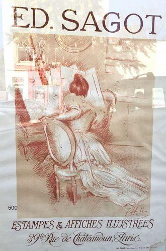 Paul Hellue poster by Ed. Sagot