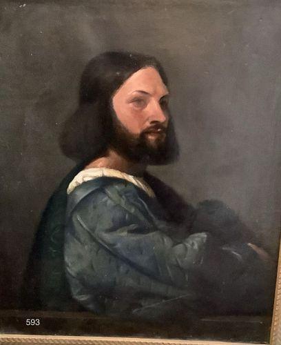 Renaissance Portrait of a Man by John Court