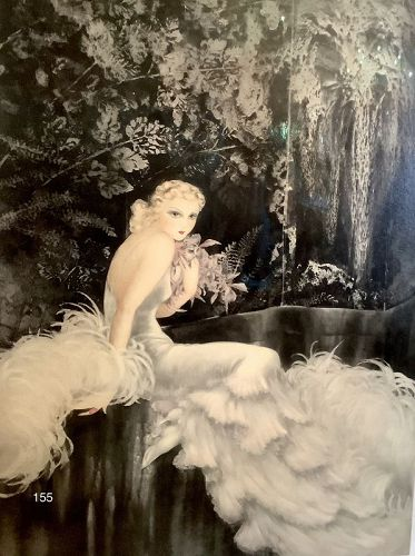 Original Soft Ground Etching by Louis Icart, New York, 1937
