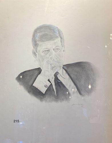 White House Portrait Study by Jamie Wyeth 1967