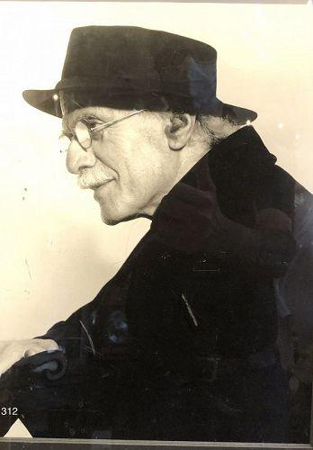 Portrait of Steiglitz by Georgia Engelhof