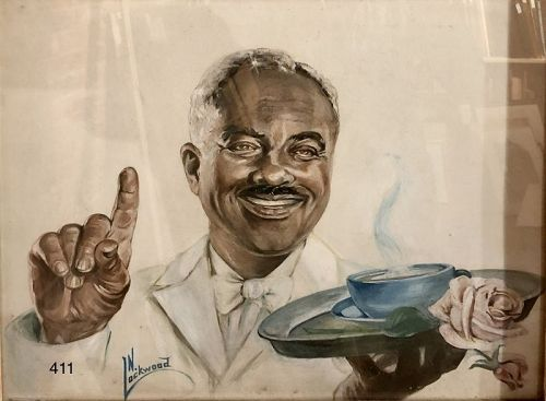 "Artist N. Lockwood ""Study Cream Of Wheat"" c.1940"