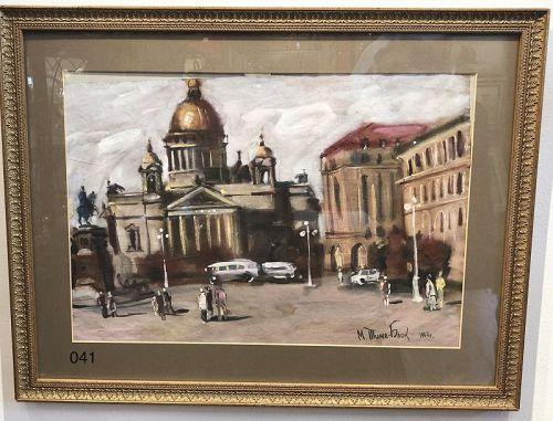 Russian Artist Ilya Blok, Saint Petersburg 1967