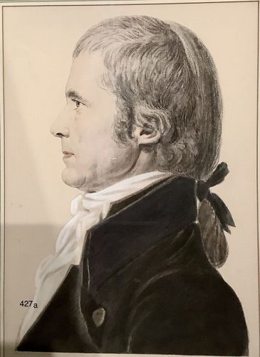 Eighteenth Century Gentleman by Thos. Marshall Smith Lithograph