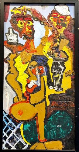 Abstract Figures by Nathan Motley