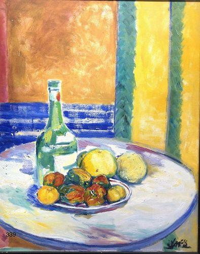 Tabletop Still Life by Joe James