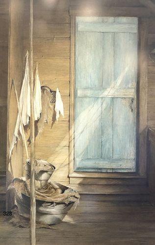 Framed Drypoint Still Life by David Hanna