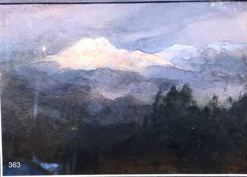 Mountains of the Holy Cross by William Henry Holmes