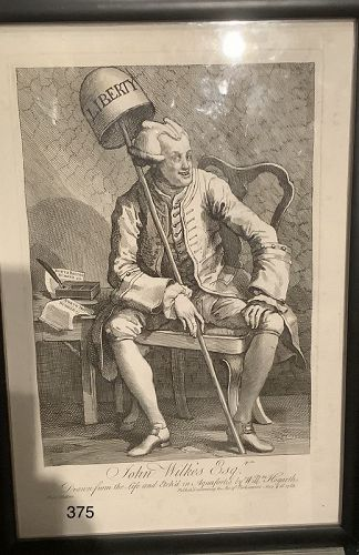 John Wilkes, Esq,. by William Hogarth