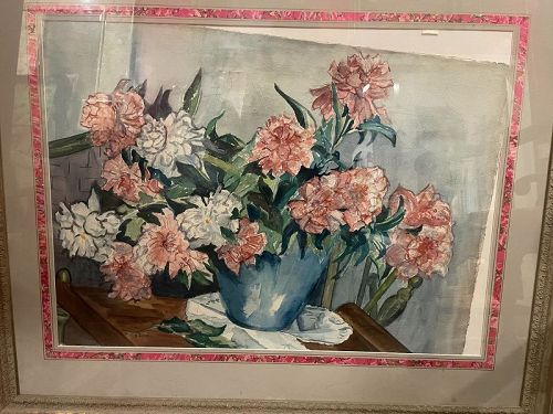 Unsigned Floral Still Life