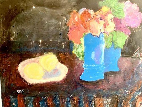 Kathleen Hyland-Nesvig Master artist abstract Floral Floral Still Life