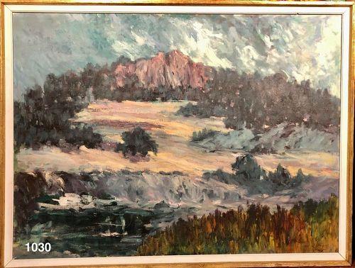 Spanish Mountain Landscape, 1966