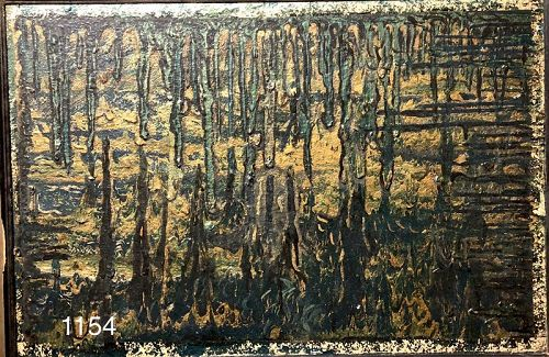 Unattributed Abstract Oil Painting 20x28�