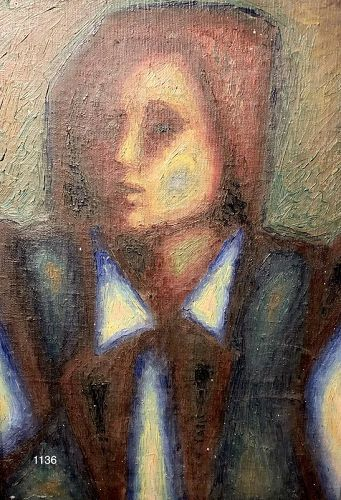 "Abstract Master Artist Max Kassler 20x14"""