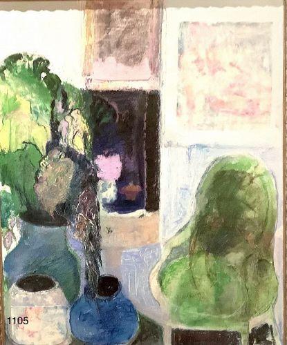Masterwork by Kathleen Hyland-Nesvig Abstraction Oil 30x24�