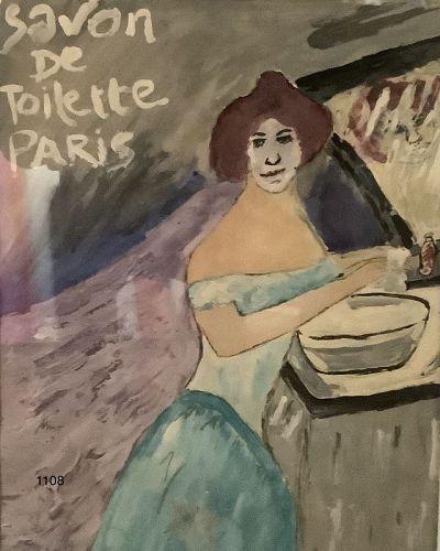 "Beautiful Modernist Painting 13x11"""
