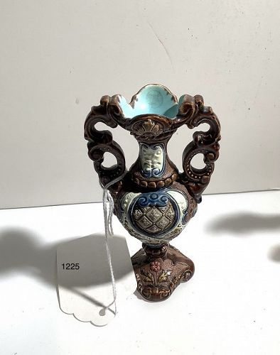German Miniature Munich  Decorated Vase 4�