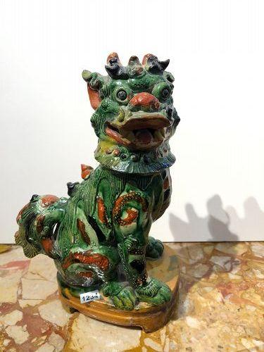 Chinese Qing Dynasty Foo Dog 12�
