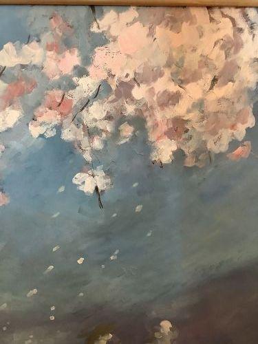 American Artist Paco Lane �Cherry Blossoms�37x32�