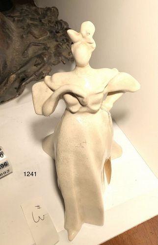 Important Maquette Figure in Porcelain G.M.Q. STEINMETZ 1923