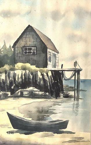 American Master Artist Simeon Grey �Seaside�