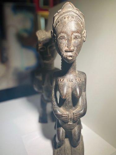 Middle Ivory Coast Female Figure