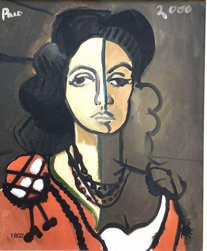 Paco Lane American Master Artist. Portrait 30x26�