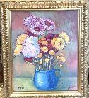 Viacheslav SADOVOI Still Life floral In oil 14x11�