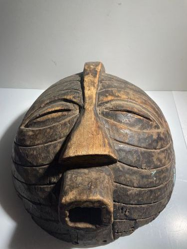 African Luba Mask from Democratic Republic of Congo 1950