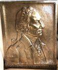 George Washington Bicentennial Gilded Bronze Plaque 22x17�