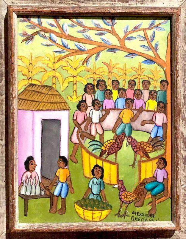 Alexandre Gregoire Haitian Artist 1922-2001