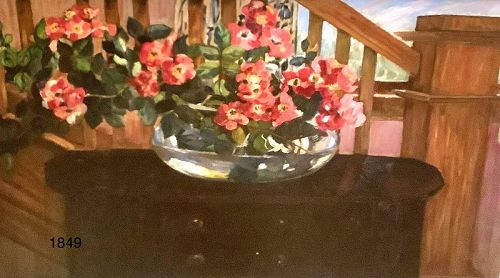 Hayley Lever �The Red Bouquet ...� Oil 23x35�